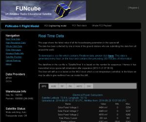 FUNcube Dashboard